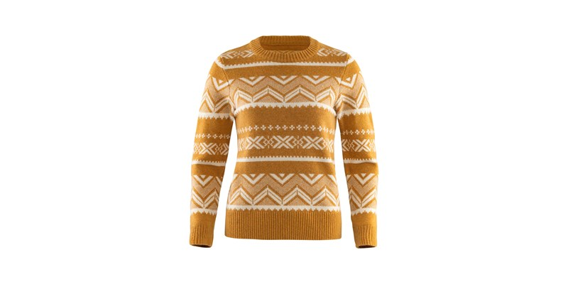 Greenland Re-Wool Pattern Knit W