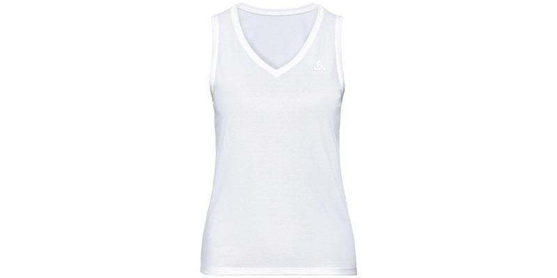 Bl Top V-Neck Singlet Active F-Dry Light