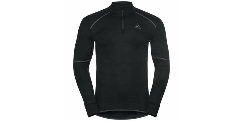 Bl Top Turtle Neck L/S Half Zip Active X