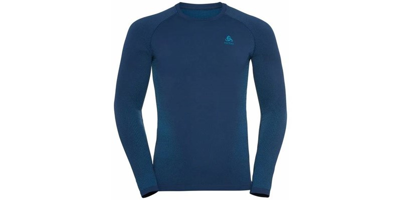Bl Top Crew Neck L/S Performance Warm Ec