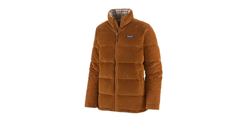 W's Cord Fjord Coat Wood Brown
