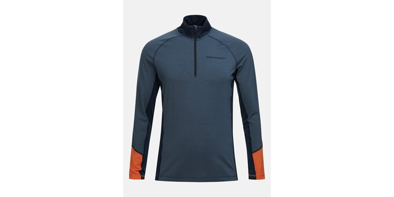 M Magic Half Zip Blue Steel