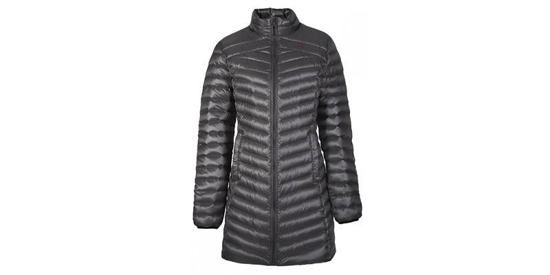 Liz W's Twin Down Coat Blck/Smok