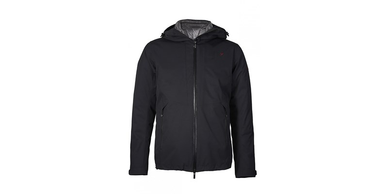 Nao M's Twin Down Jacket Blck/Smok